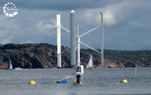 SeaTwirl is a new floating wind turbine installed in Lysekil
